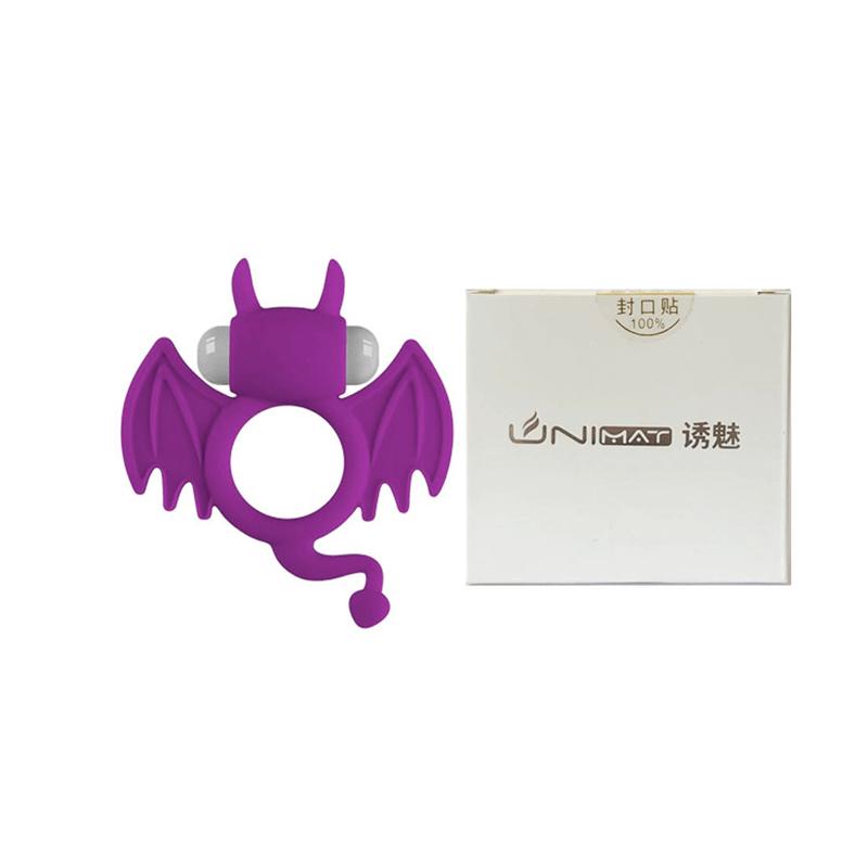 Anel Peniano com Formato de Morcego e com Vibração