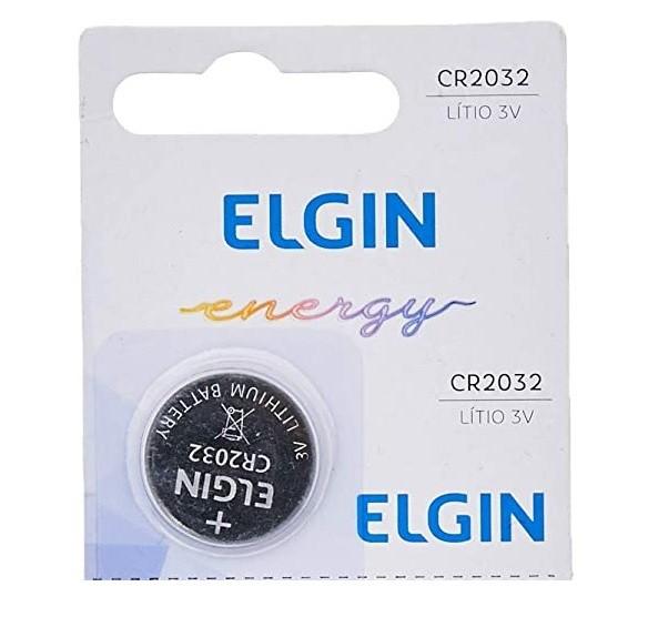 Bateria Cr2032 Elgin