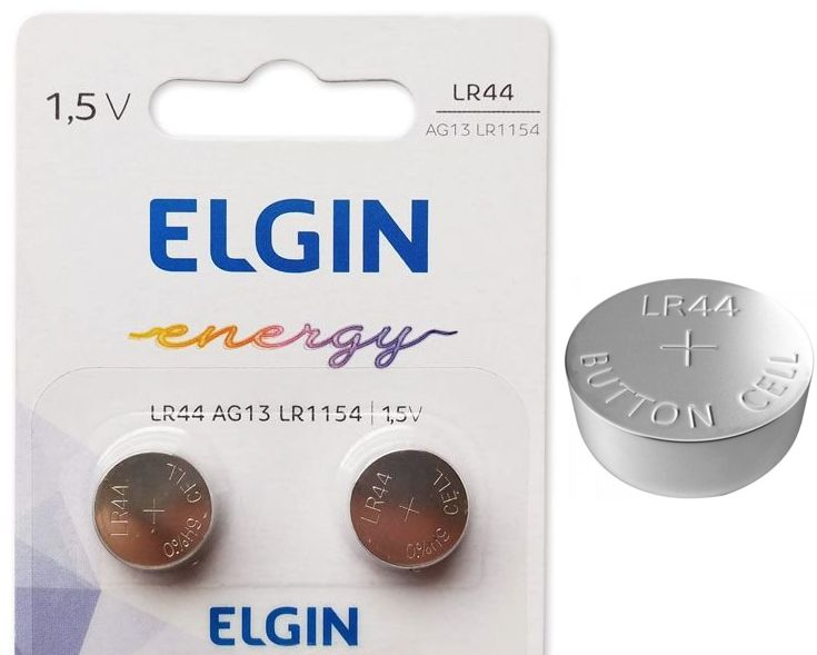 Bateria Lr44 C/2 Uni Elgin