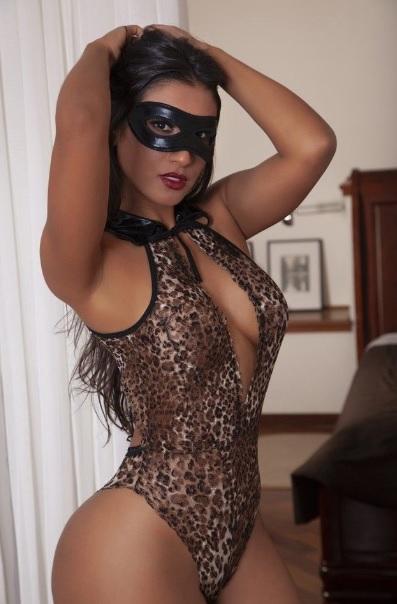 Body Michelle Brown 2182m Com Mascara Gv