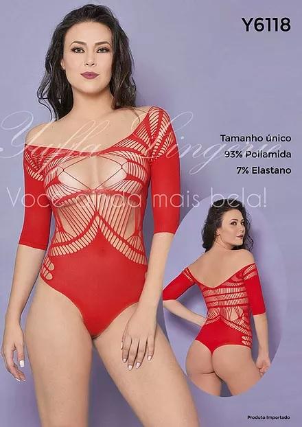 Body Y6118 Red Yaffa