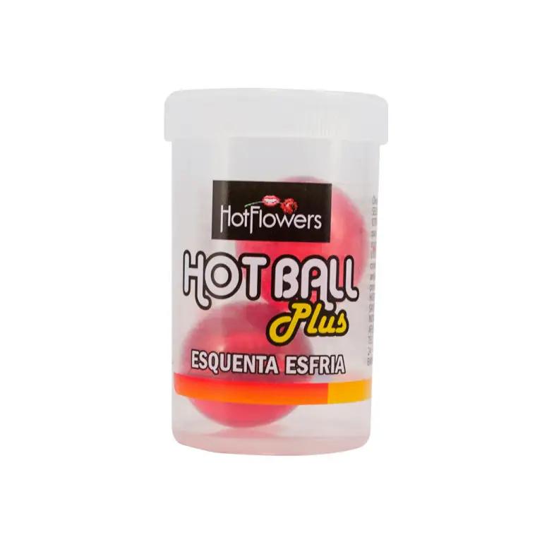 Bolinha Explosiva com Sensação Quente e Gelada