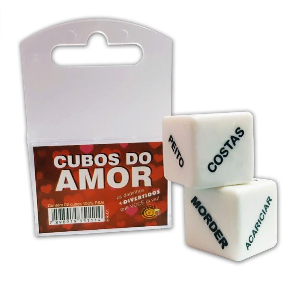 Dado Ld017 Er-01 Cubos Do Amor