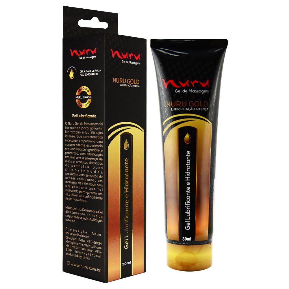 Lubrificante Hidratante para Massagem e Fisting - Nuru Max Premium - 30ml