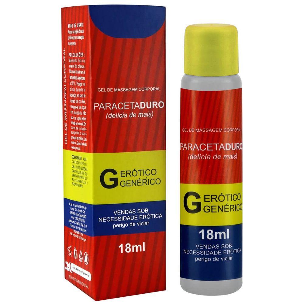 Gel Excitante Masculino - Paracetaduro - Esquenta e Vasodilata - 18ml
