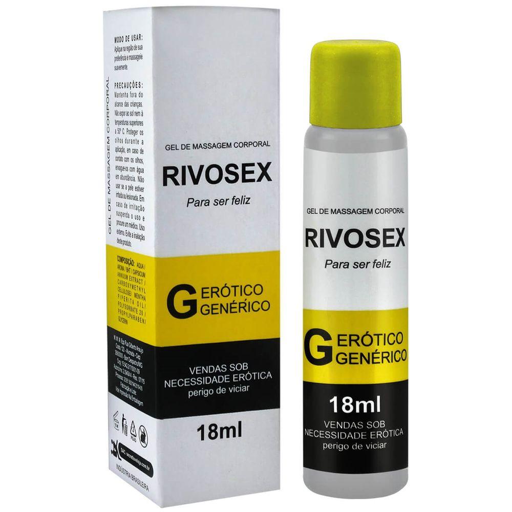 Gel Retardante Masculino - Rivosex - 18ml