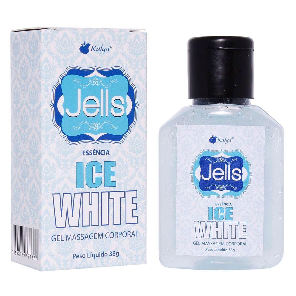 Jells Beijável com Sabor de Ice White e Efeito Gelado - 30ml