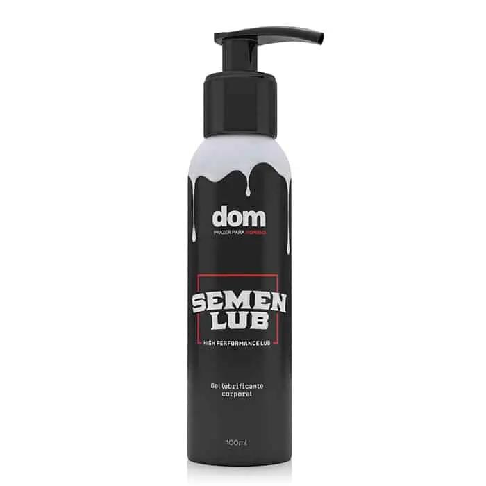 Lubrificante a Base D'água com Textura de Sêmen - 100ml