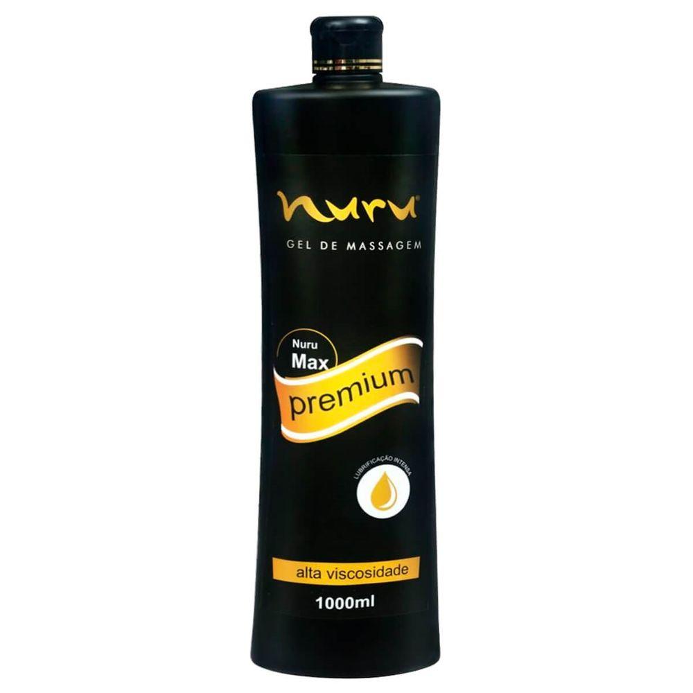 Lubrificante Hidratante para Massagem e Fisting - Nuru Max Premium - 1000ml
