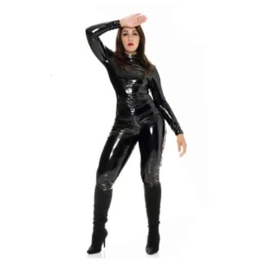 Macacão Em Vinil - Tamanho Único - Femme Leather