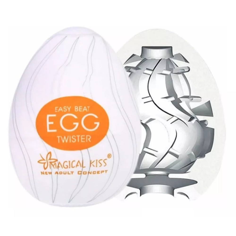 Masturbador Egg - Twister