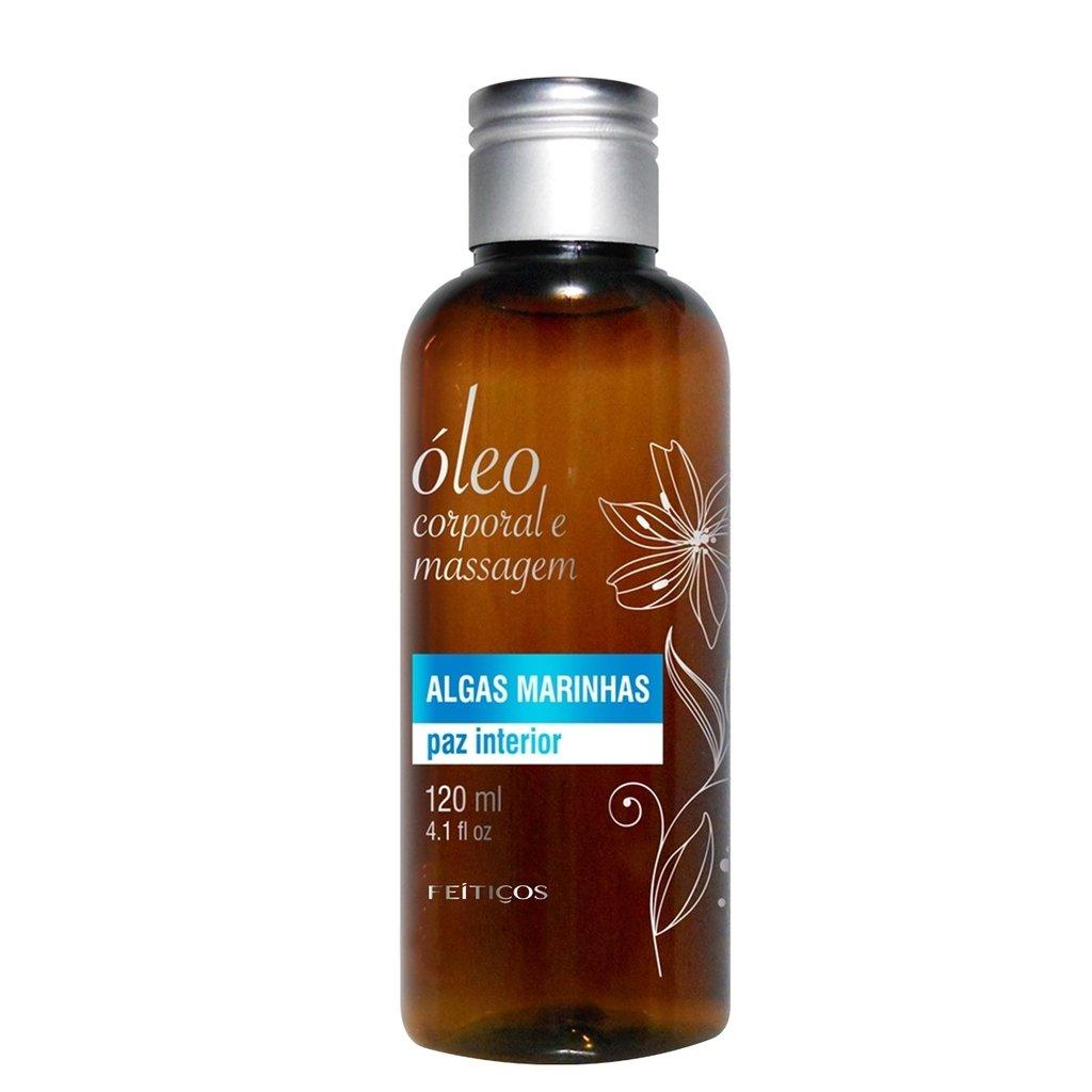 Óleo de Massagem com Aroma de Algas Marinhas - 120ml