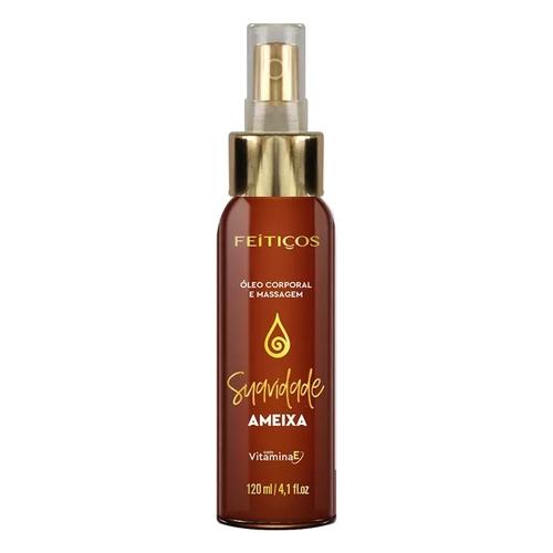 Óleo de Massagem em Spray com Aroma Afrodisíaco - Ameixa - 120ml