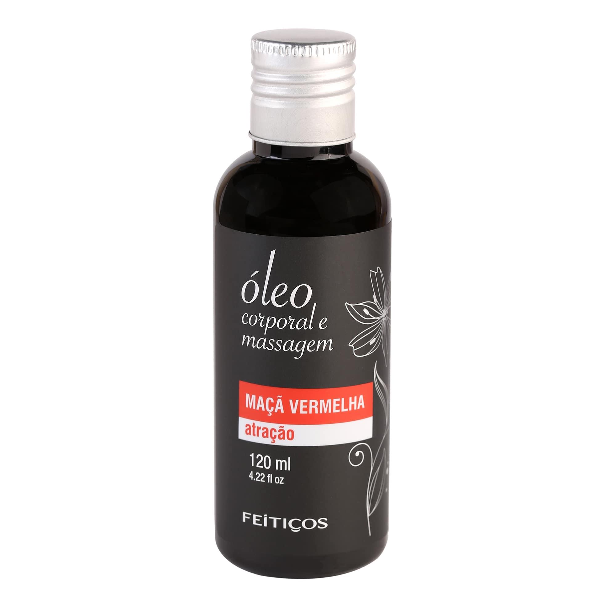 Óleo de Massagem com Aroma de Maçã Vermelha - 120ml