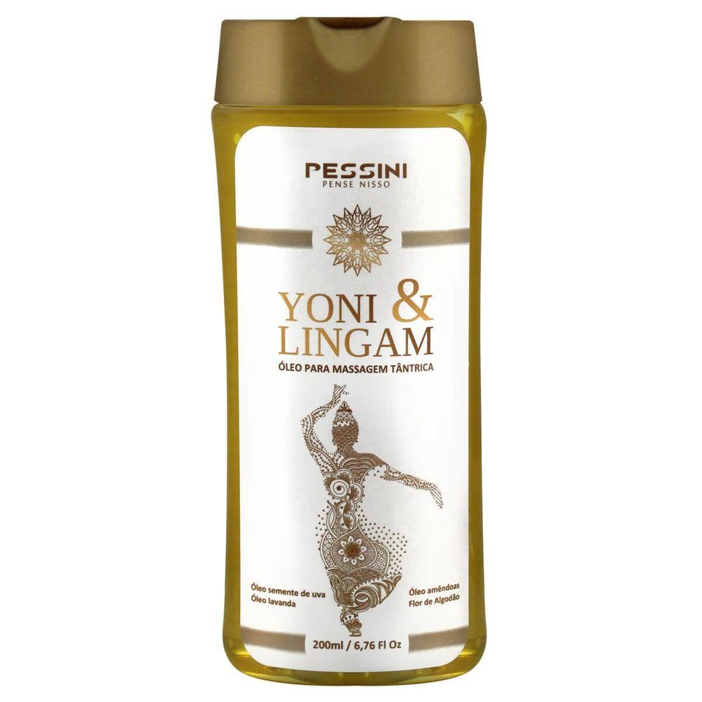 Óleo para Massagem Tântrica Afrodisíaco - Yoni & Lingam - 200ml