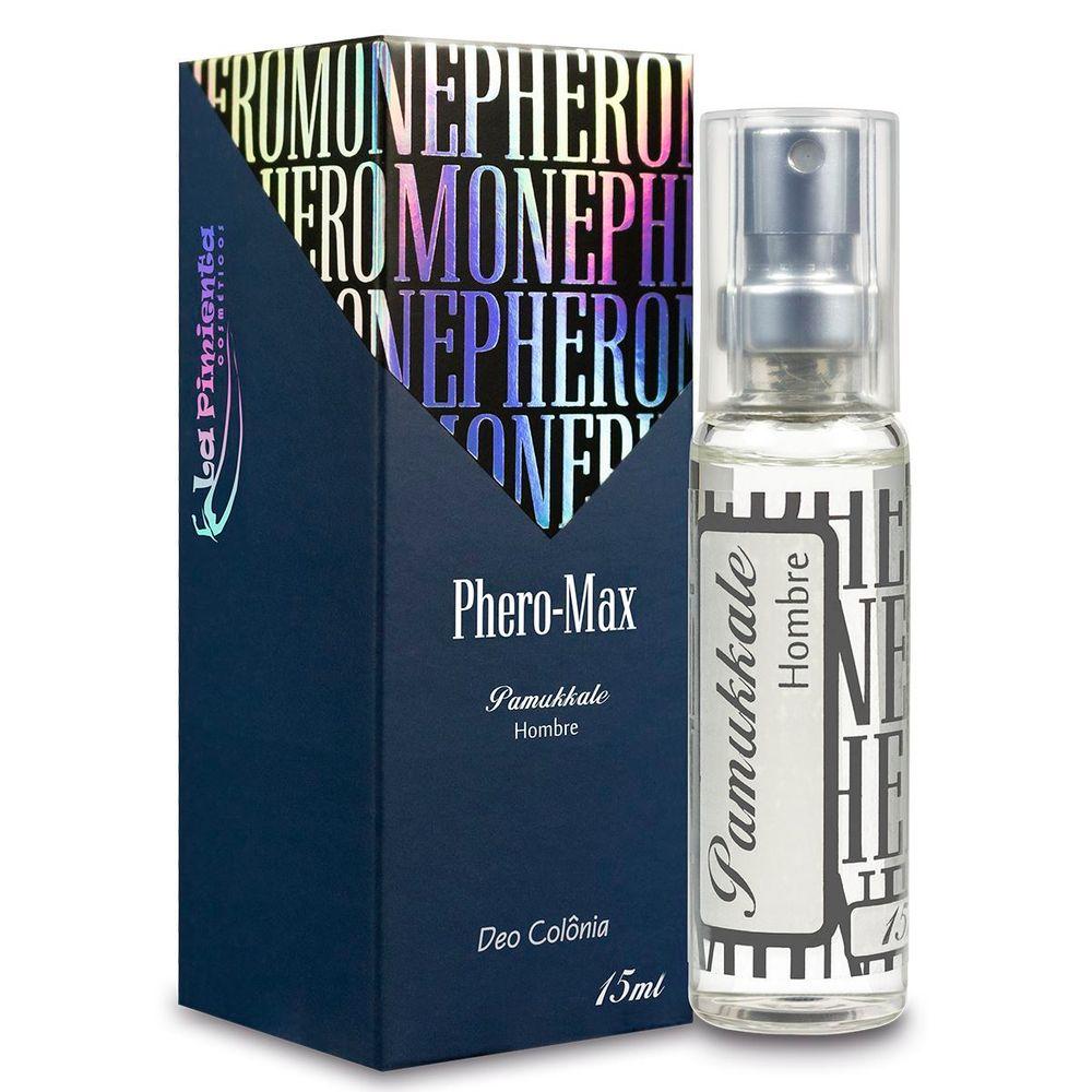 Perfume com Ferômonios Masculino - Pamukkale Hombre - 15ml