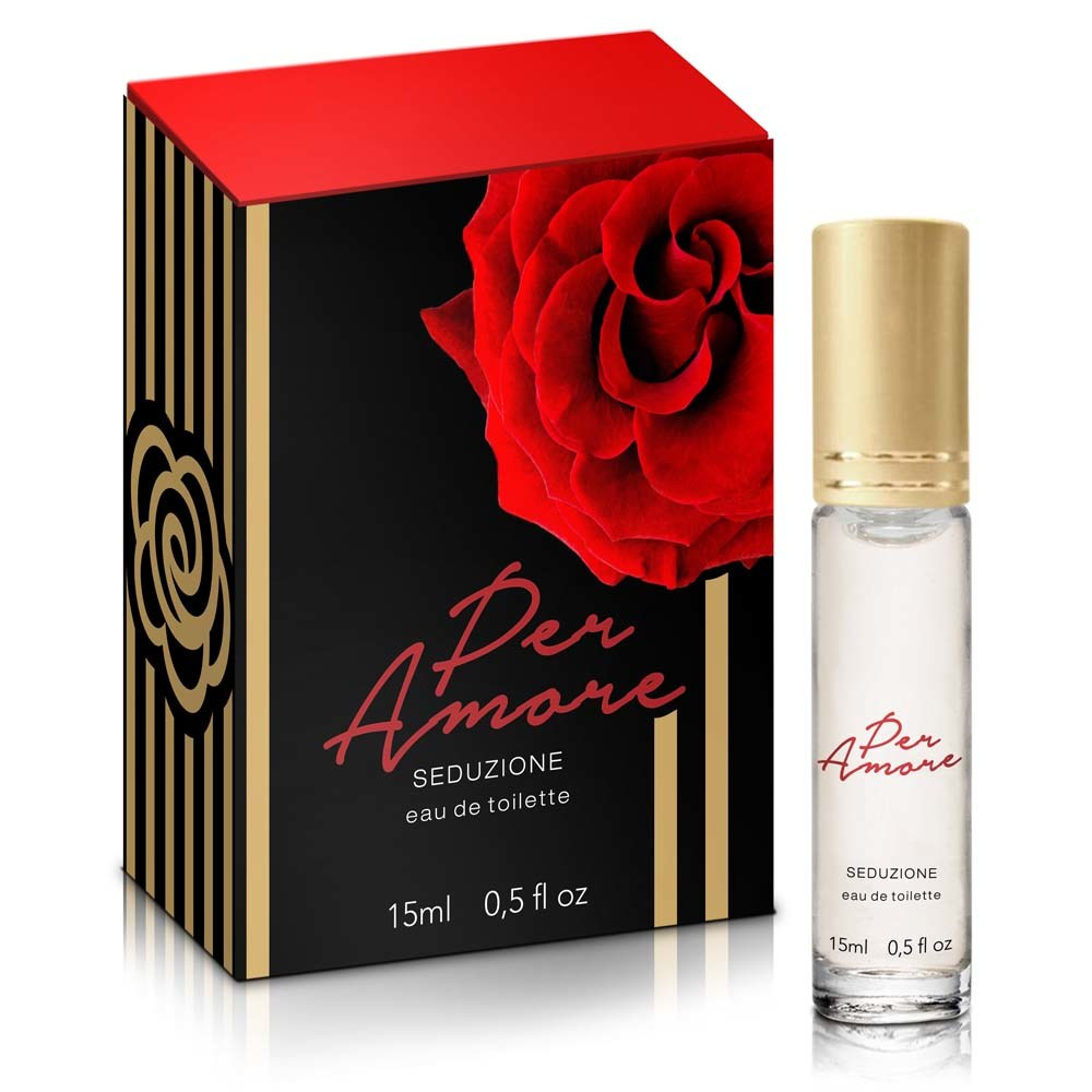 Perfume Feminino com Ferômonios - Per Amore - 15ml