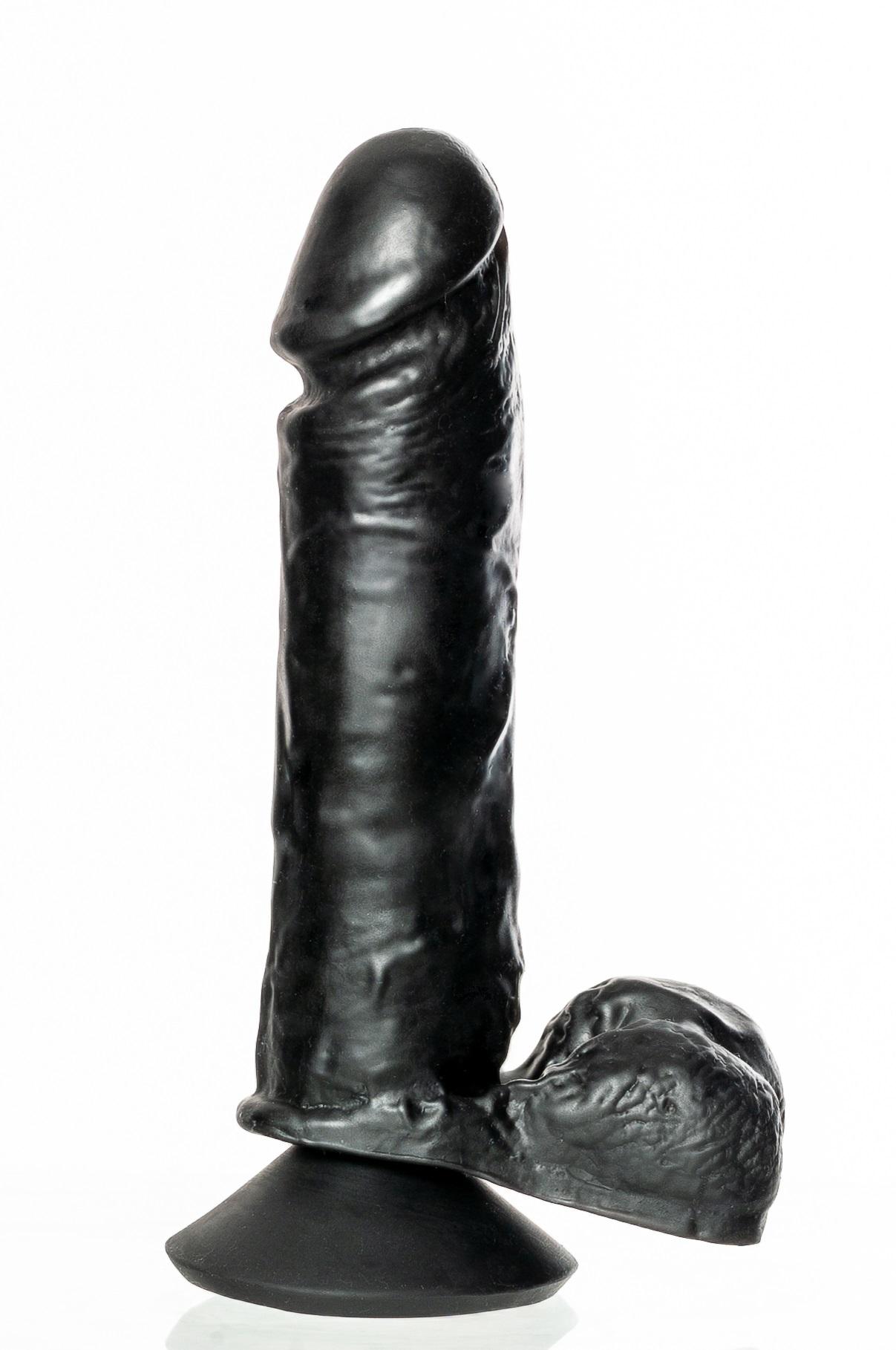 Prótese Peniana Macia como a Pele  com Glande Saliente e Escroto Flexível + Ventosa em Realistic Skin 21,5x4,5cm - Thor - Cores