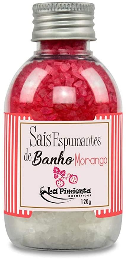 Sais de Banho com Aroma de Morango - 135g