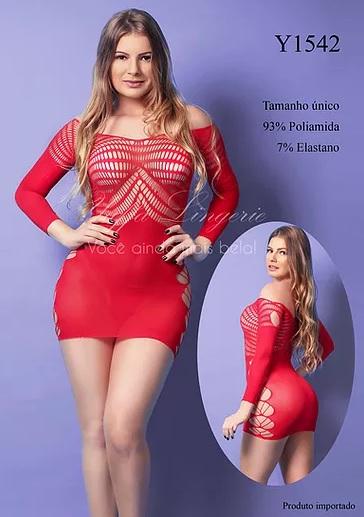 Vestido Y1542 Yaffa Verm