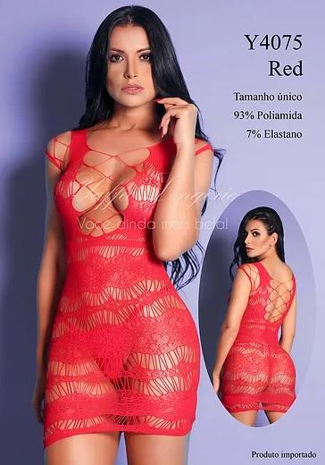 Vestido Y4075 Yaffa Verm
