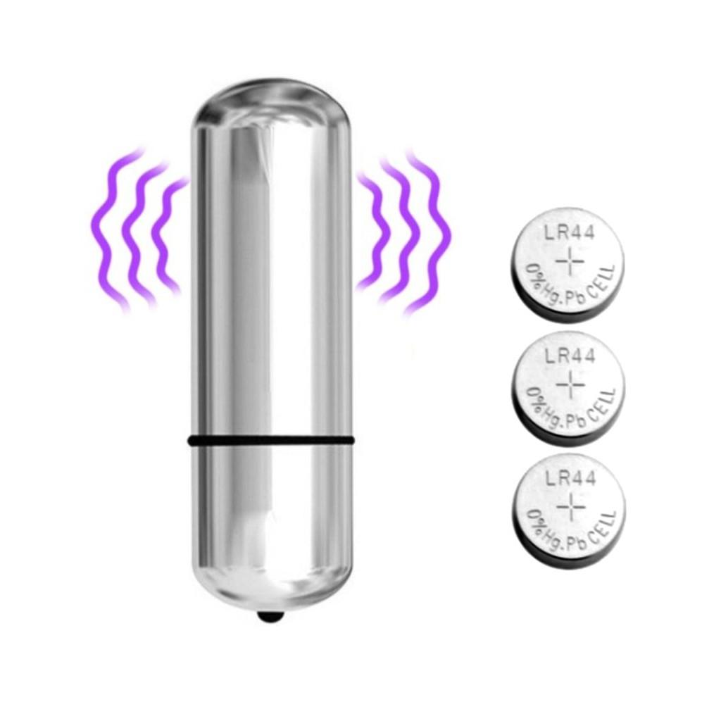 Vibrador Mini Bullet com 10 Modos de Vibração - Cores Sortidas