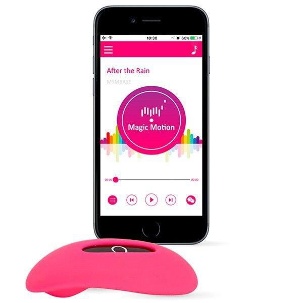 Vibrador de Calcinha com 7 Modos de Vibração e Controle Via App Mundial - Candy - Rosa