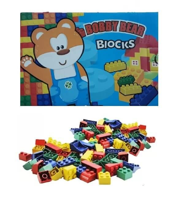 Blocos de Montar Bobby Bear 802