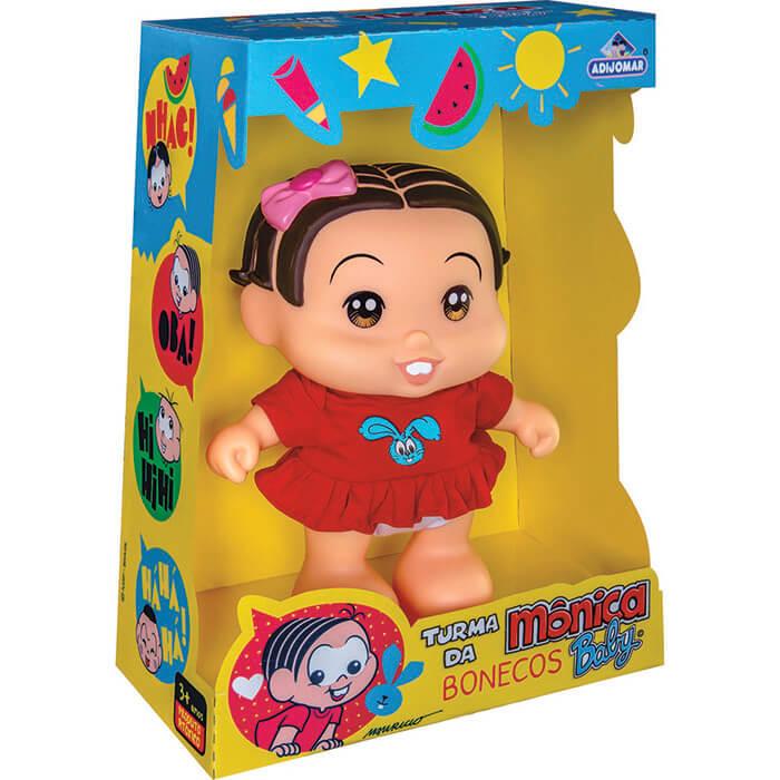 Boneco Turma da Mônica Baby - Mônica Adijomar