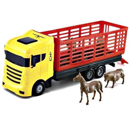 Brinquedo Caminhão Cowboy Truck 0415 Orange Toys