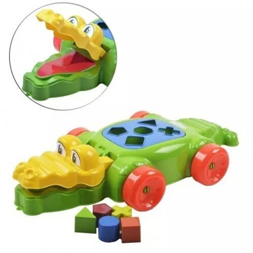 Brinquedo Didático Crok Dilo  63 Artoys