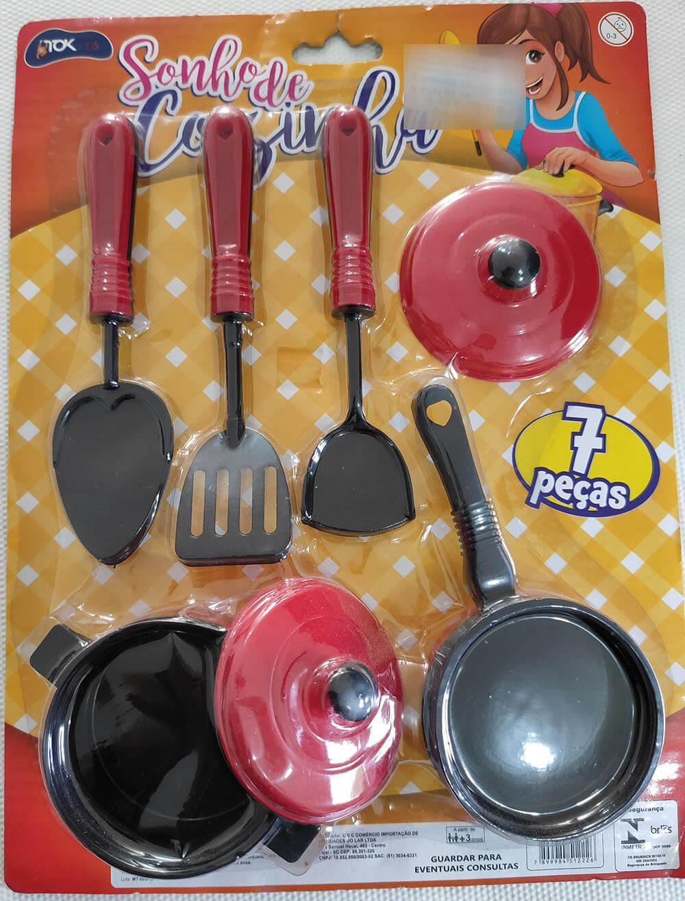 Brinquedo kit Sonho de Cozinha MT-0620 Tok Kids
