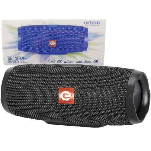 CAIXA BLUETOOTH TUBO SPEAKER CS-M35BT EXBOM