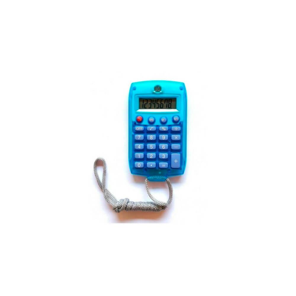 Calculadora De Bolso Com Cordão 8 Dígitos Kenko Kk-8961