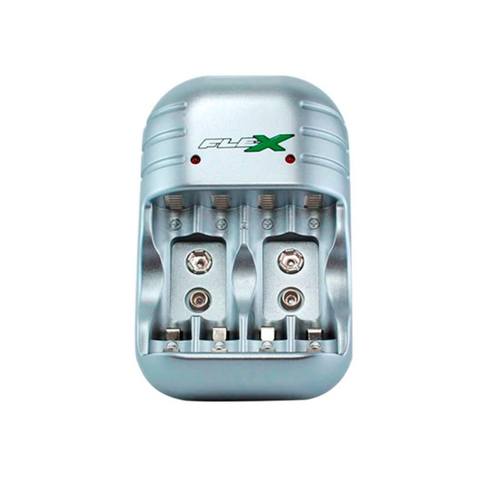 Carregador para Pilhas e Baterias FX-C03 Flex