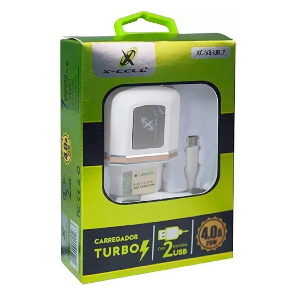 Carregador Turbo V8 XC-V8-UR7 X-Cell