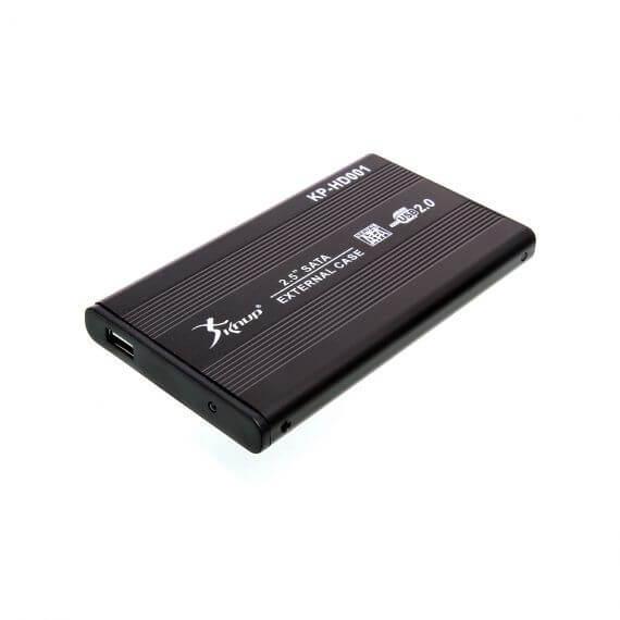 CASE PARA HD SATA 2.5 KP-HD001 KNUP