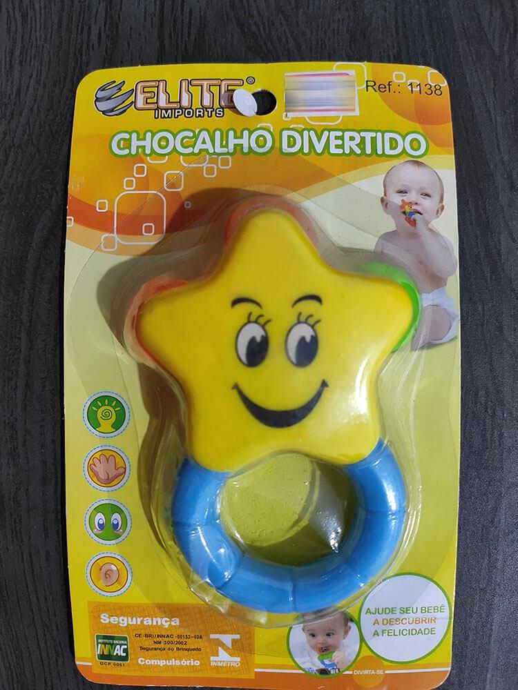 Chocalho Divertido 1138 Elite