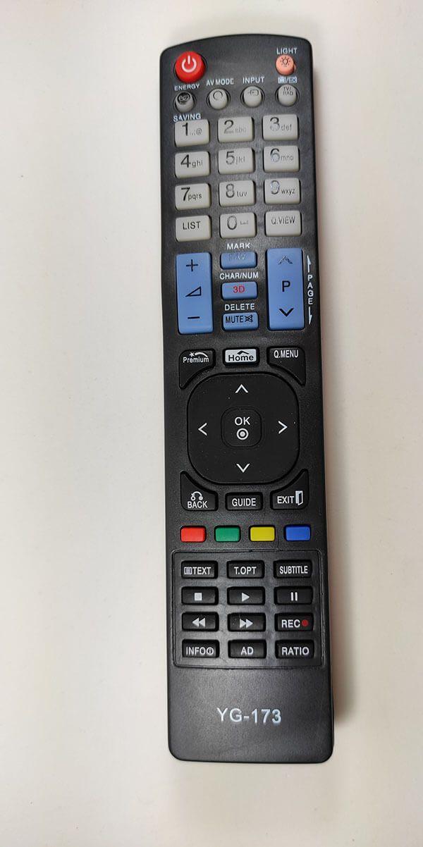 CONTROLE REMOTO TV LG LCD YG-173