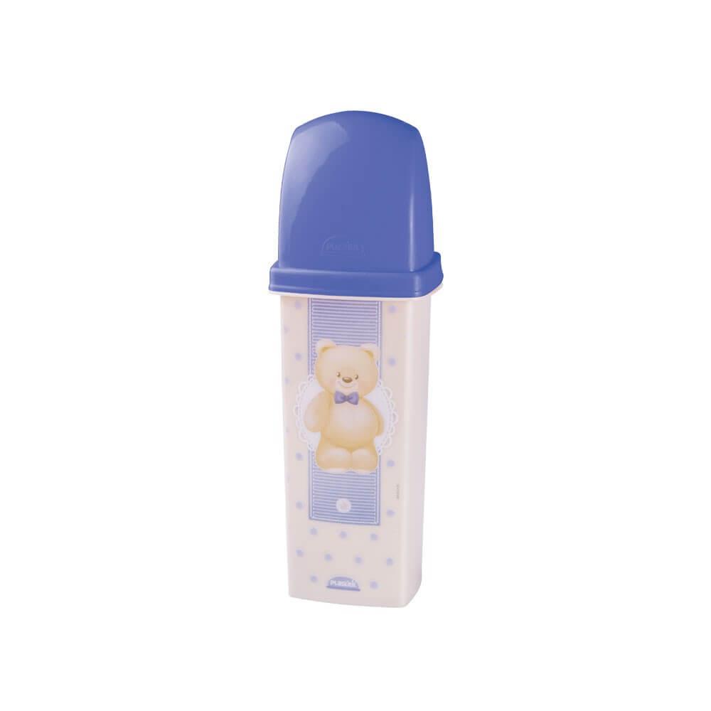 Dental Case de Plástico com Tampa Urso 8441 Plasútil