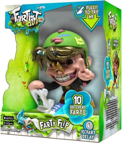 Fartist Club Farty Flip com Sons 2300 Candide
