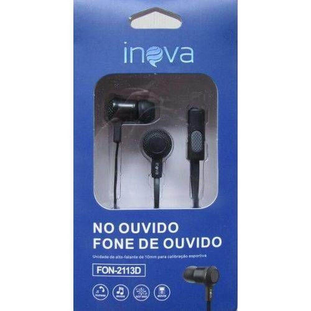 Fone de Ouvido FON-2113D Inova