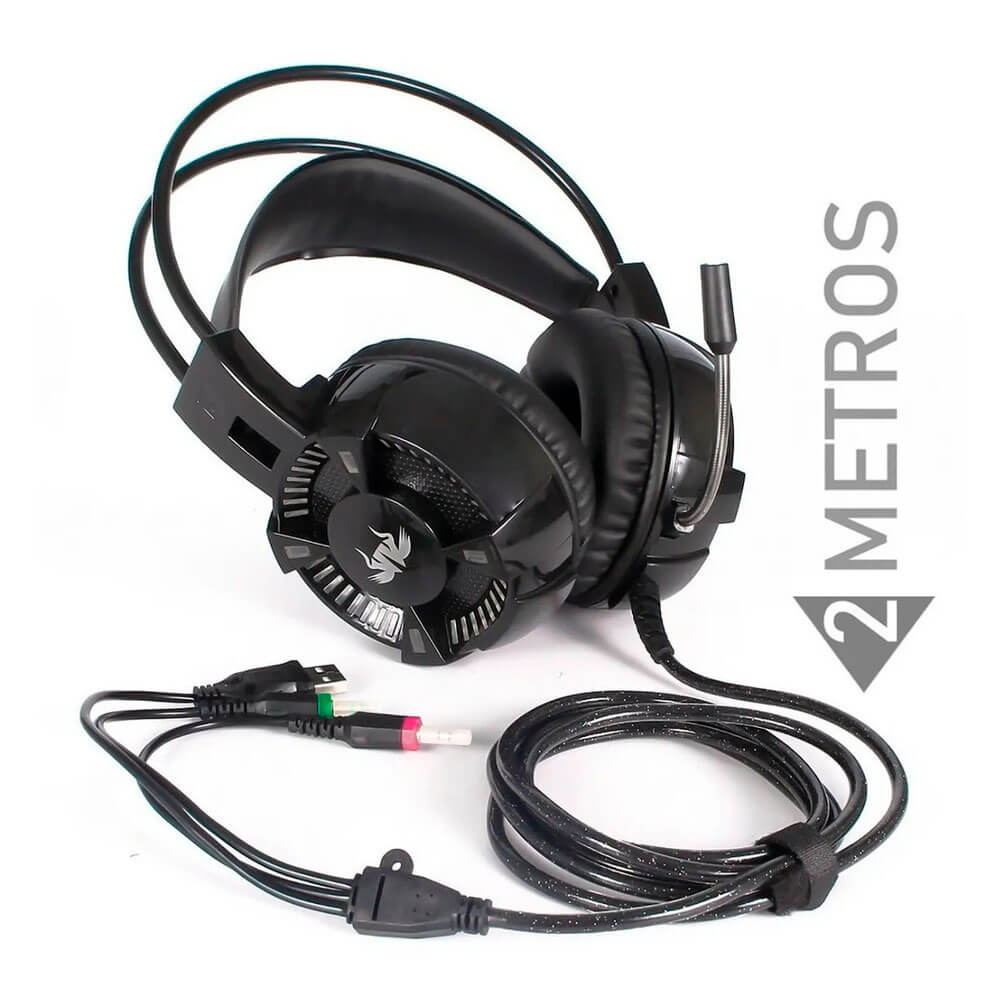 Fone Headset Gamer 7.1 KP-464 Knup