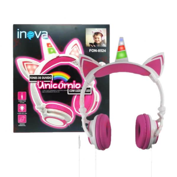 Fone Infantil FON-8524 Inova