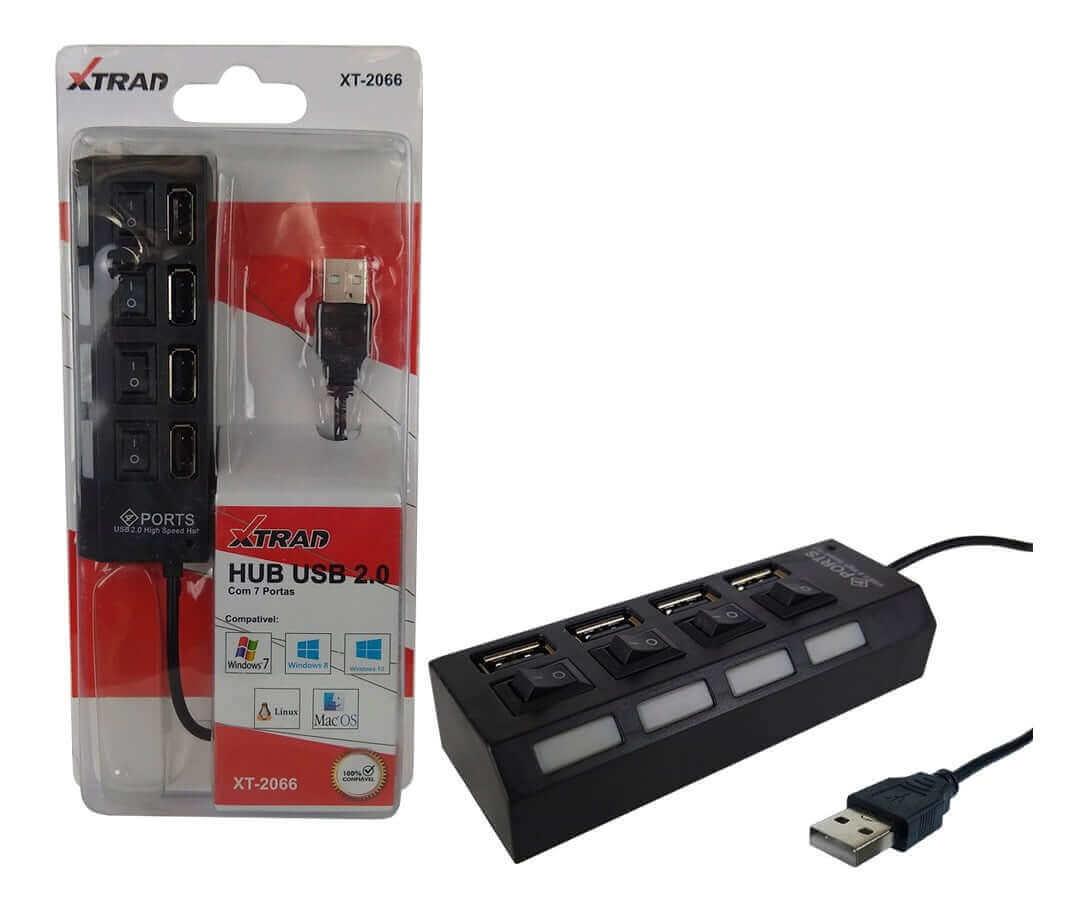 Hub USB 2.0 XT2066 Xtrad