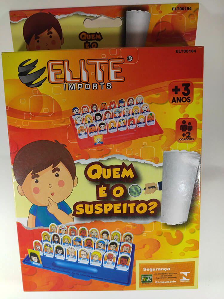 JOGO QUEM É O SUSPEITO RLT-00184 ELITE