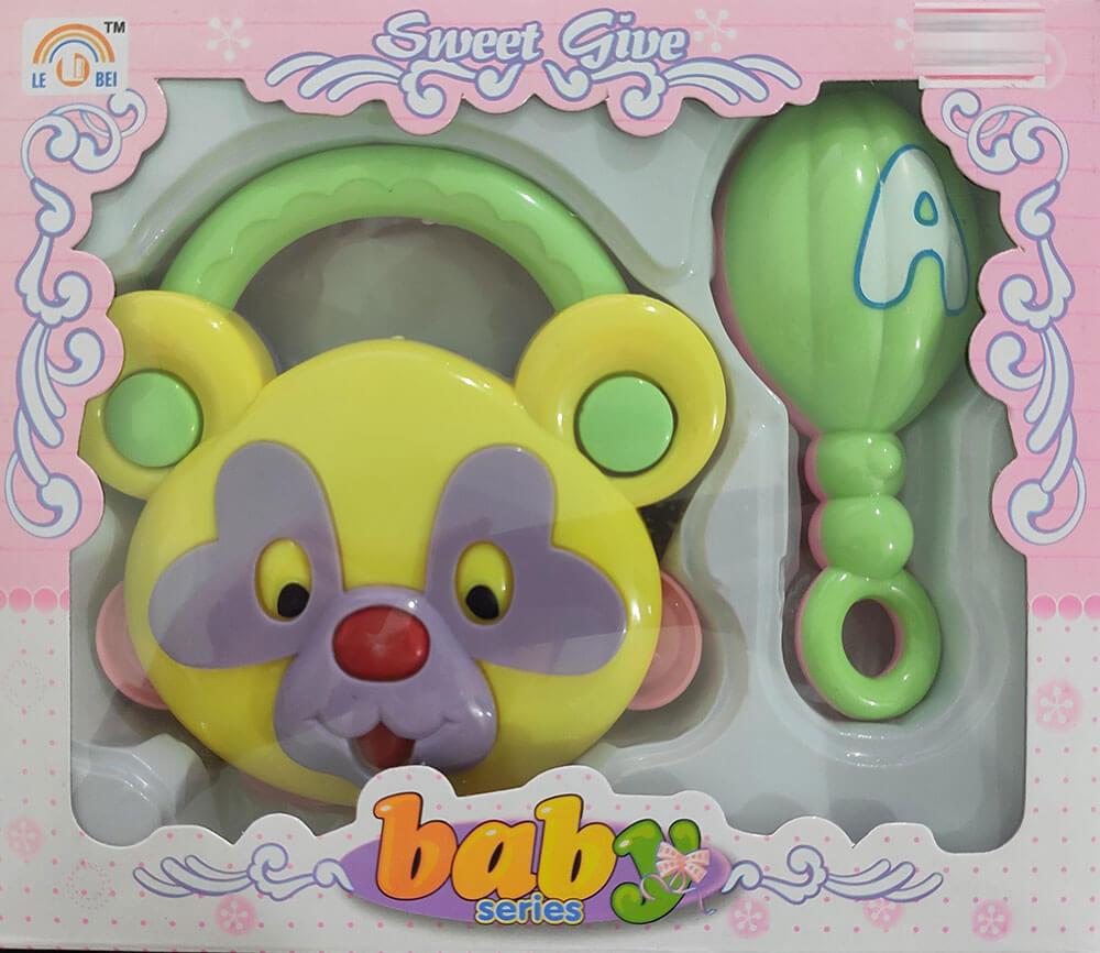 Kit Chocalhos 2 Peças MT-0471 Baby Series