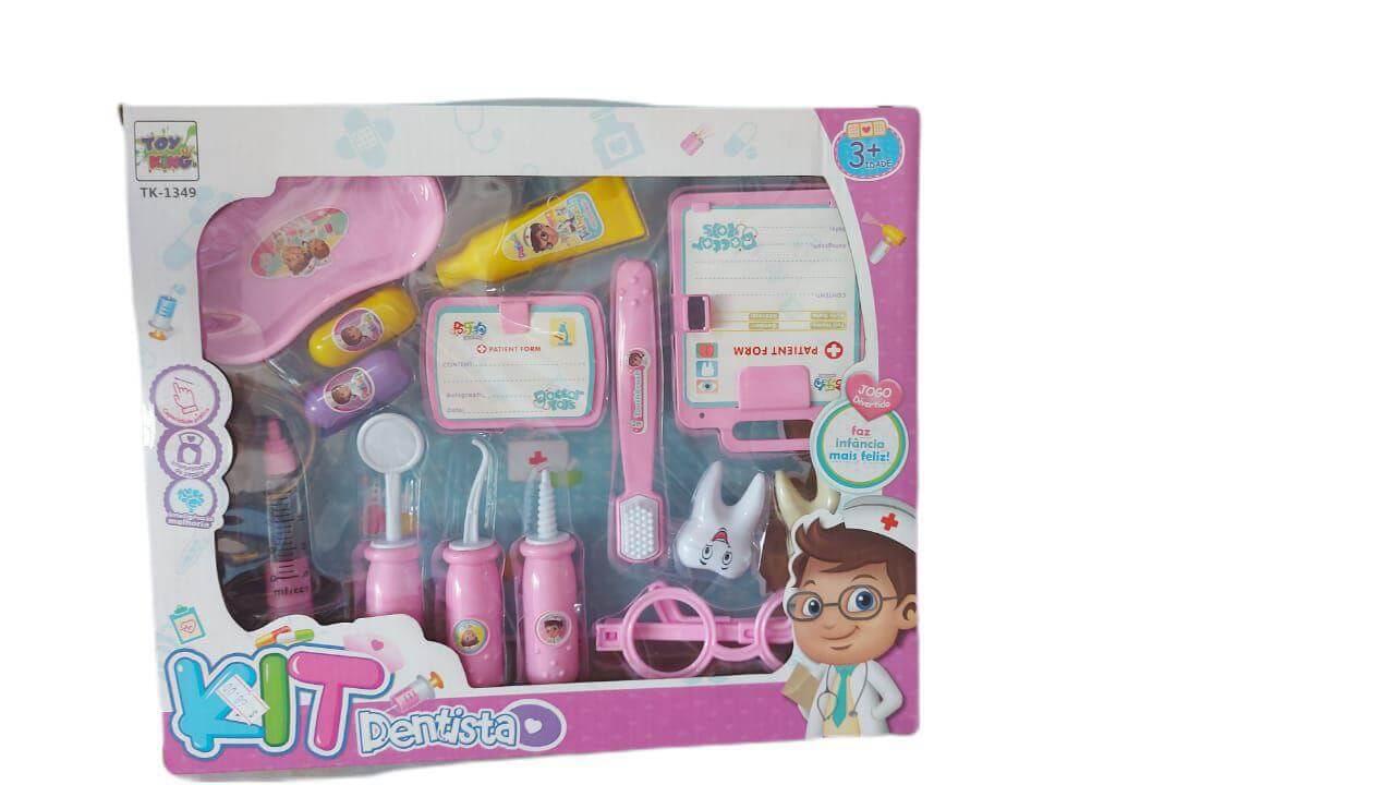 Kit Dentista Plástico TK-1349