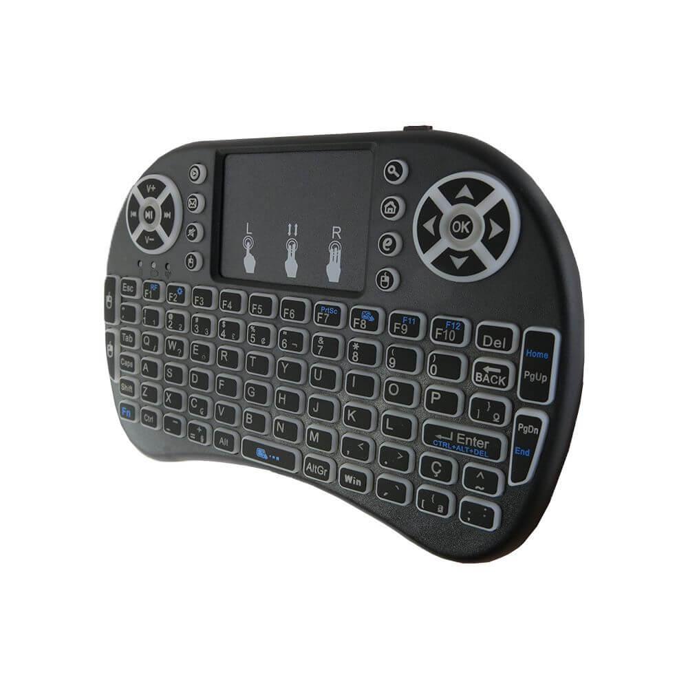 Mini Teclado toch pad com Led CH0271 Xtrad