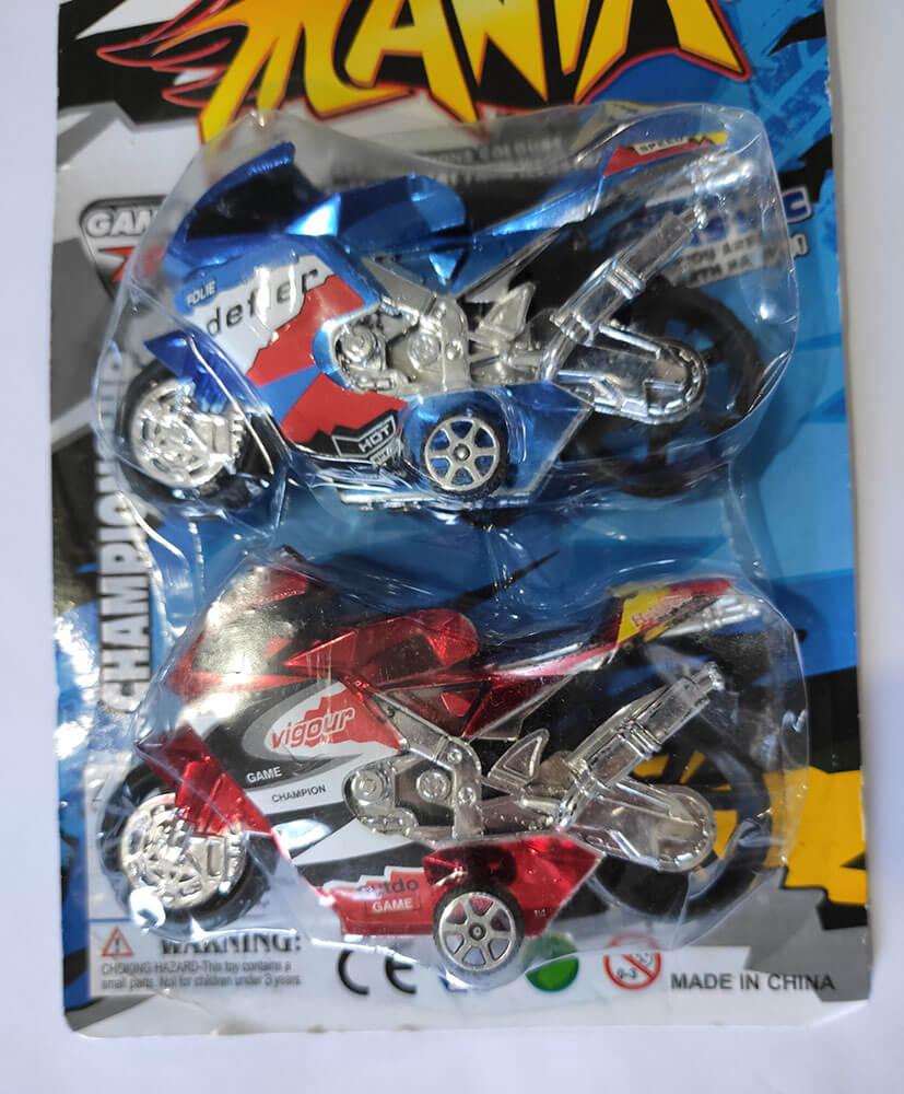 Motos Pull Back 2 Peças  MT-1151 Tok Kids